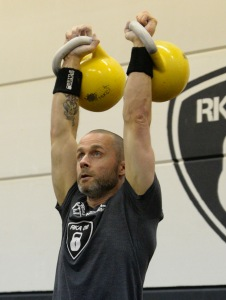 Barry Andre - Kettlebell Trainer Rotterdam
