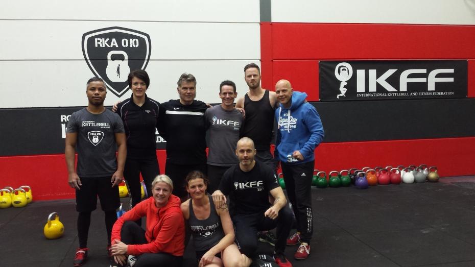 IKFF CKT Kettlebell Trainers in Nederland en Belgie