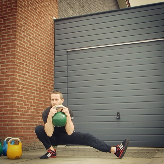 Kettlebell Cossack Squat