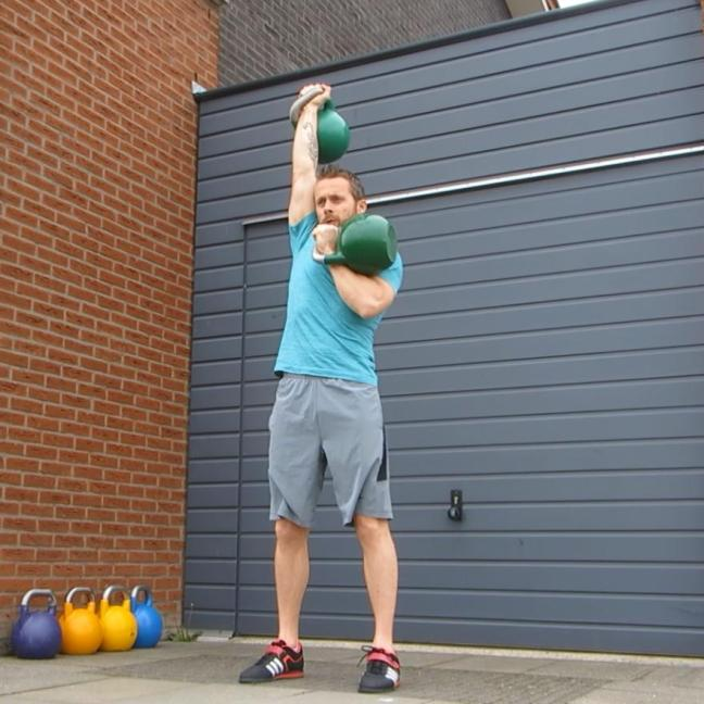 Kettlebell Alternate Press