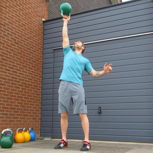 Kettlebell Bottom Up Press