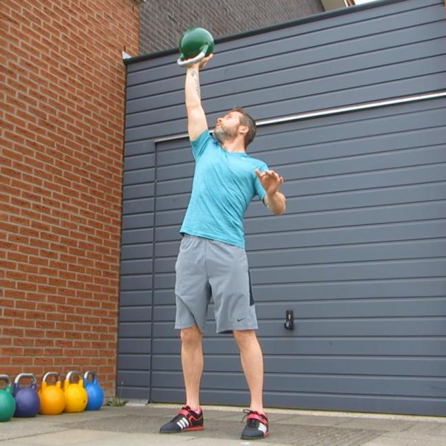 Kettlebell Waiters Press