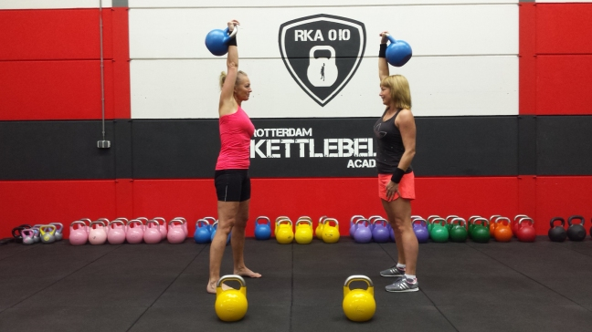 Be strong Be fit Stay focused with kettlebells