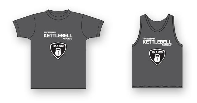 Kettlebell T-shirts Rotterdam Kettlebell Academy