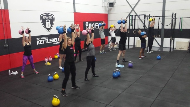 Rotterdam is rocking the kettlebells