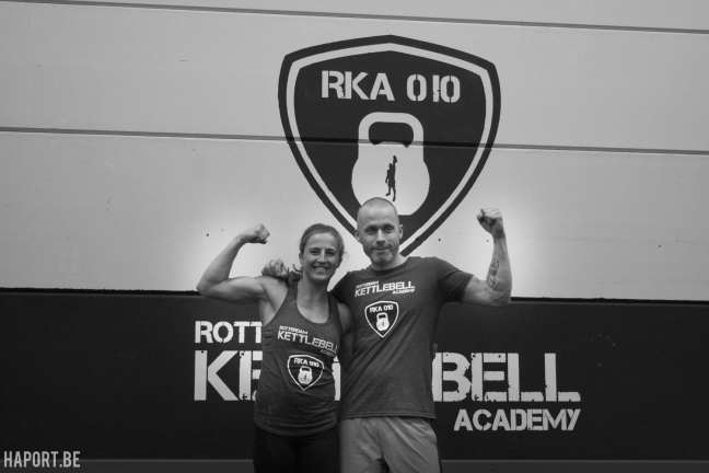 Kettlebell lifting hotspot in Rotterdam