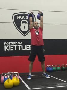 Barry Andre Kettlebell Sport