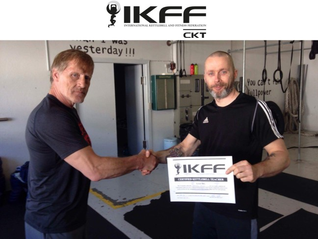 IKFF Certified Kettlebell Trainer Level 2 – Barry Andre