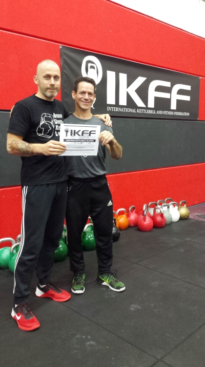 IKFF Kettlebell Master Trainer - Barry Andre