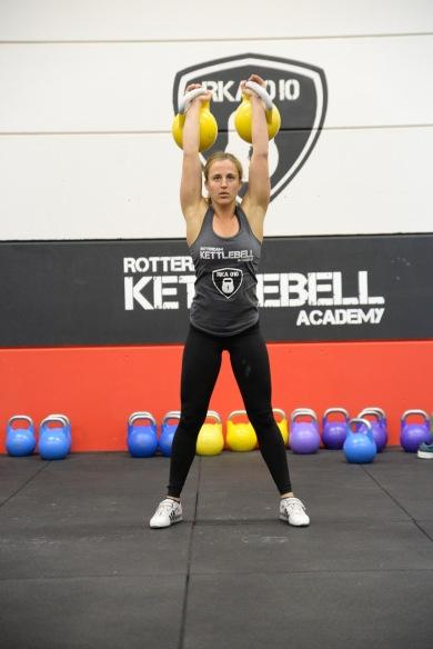 kettlebell sport Brittany van Schravendijk