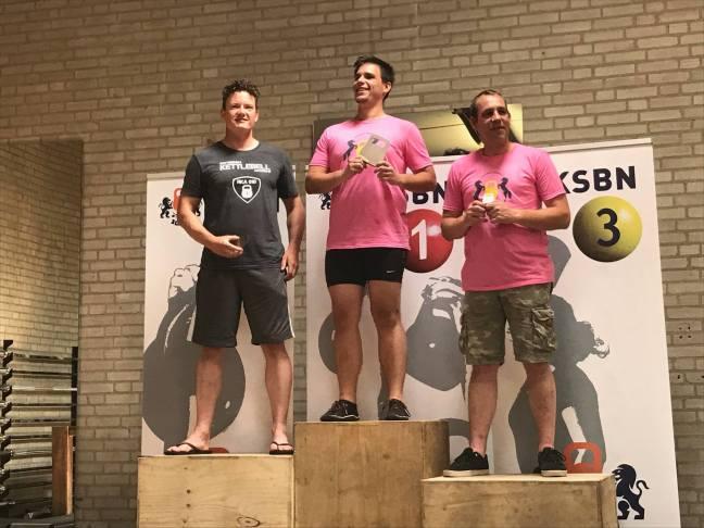 Rotterdammer pakt titel op het NK Kettlebell Sport