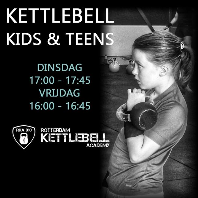 Kettlebell Kids Teens Rotterdam