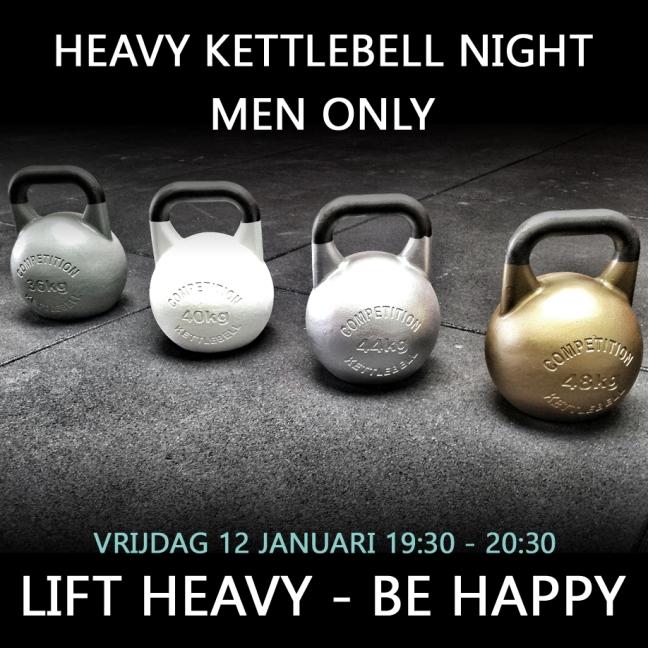 Heavy Kettlebell Night