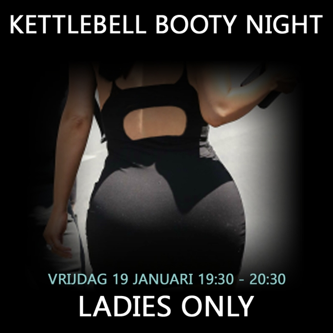 Kettlebell Booty Night