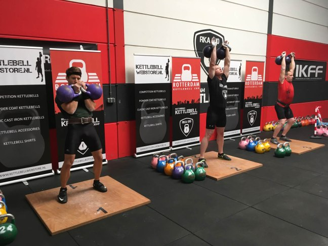 Results Rotterdam Kettlebell Cup 2018