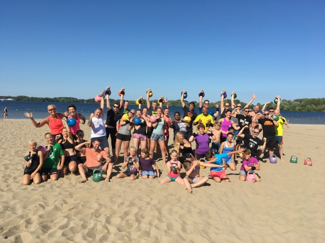 Kettlebell Beach Bootcamp