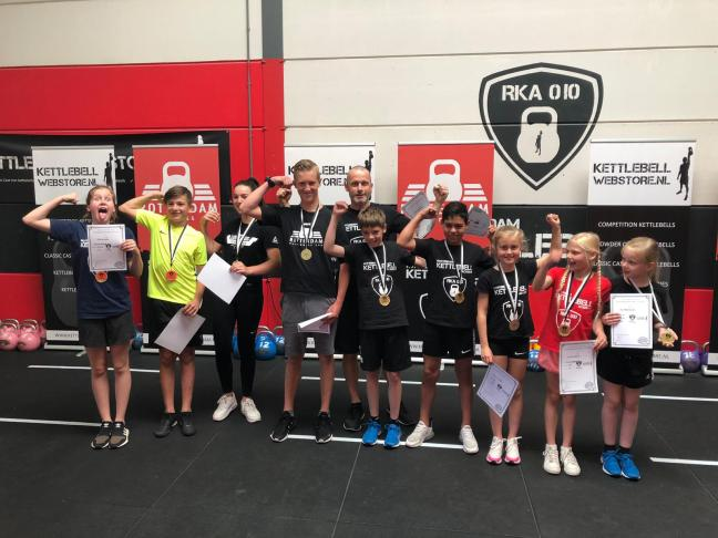 Results Rotterdam Kettlebell Cup 2019 - Kids