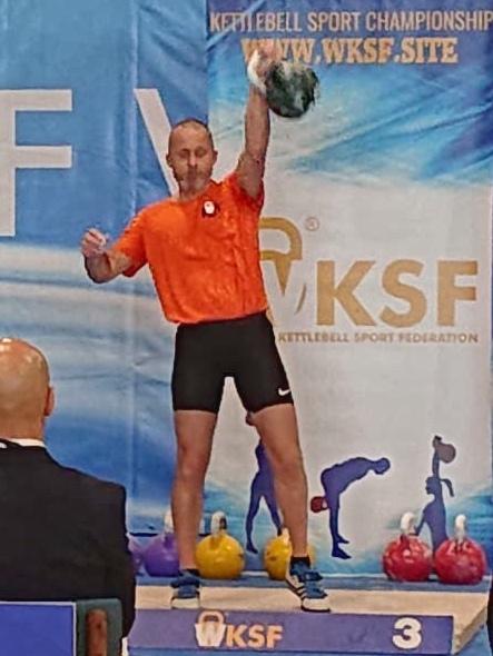 WK Kettlebell Sport Barry Andre Snatch