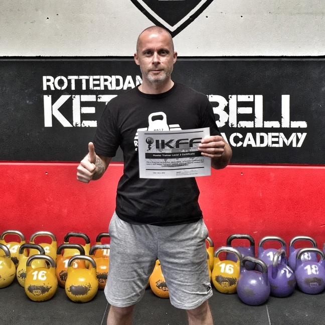 IKFF Kettlebell Master Trainer Level 2 - Barry Andre