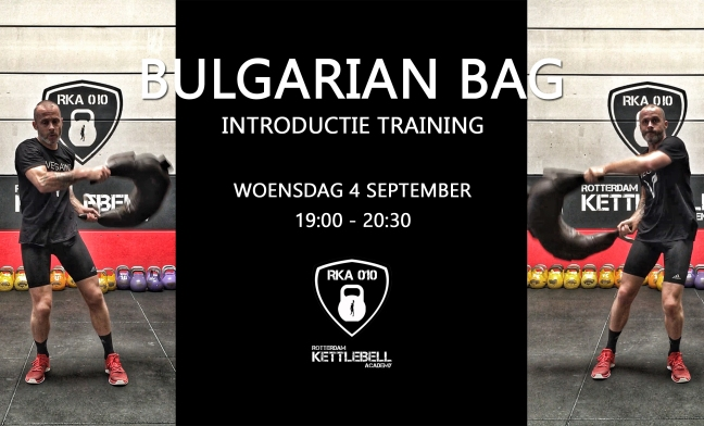 Bulgarian Bag Introductie Training
