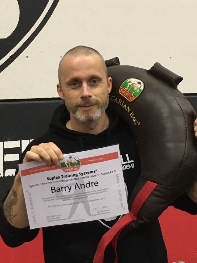 Bulgarian Bag Trainer Level 1 - Barry Andre
