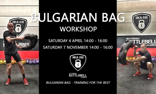 Bulgarian Bag Workshop