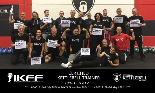 IKFF Certified Kettlebell Trainer Level 1 en Level 2