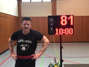 Kettlebell Wedstrijd Rhein Main Cup 2020 Duitsland