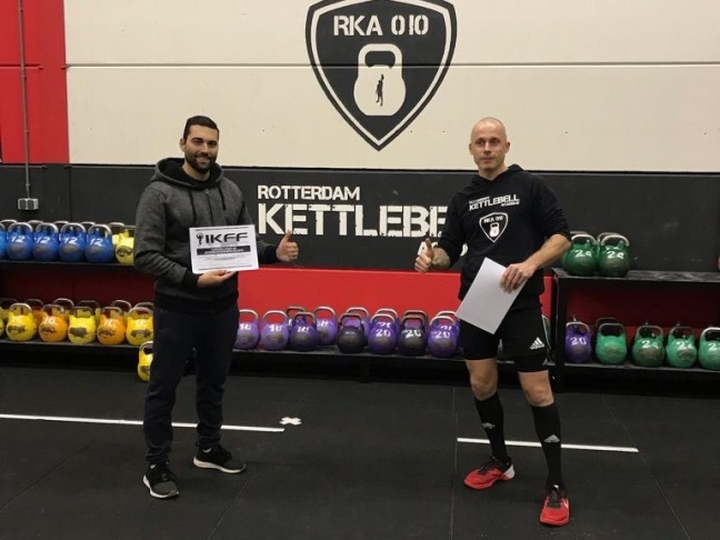 Ervaring Michel IKFF Certified Kettlebell Trainer Level 1 Certification