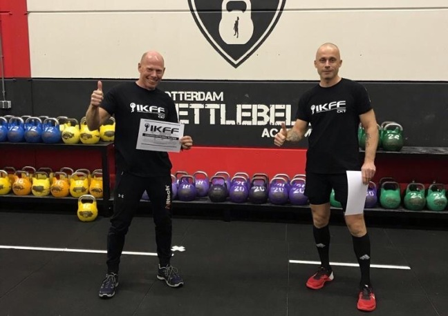 Ervaring Peter IKFF Certified Kettlebell Trainer Level 1 Certification
