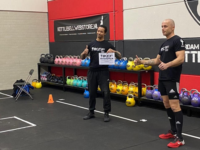 Ervaring Rivalino IKFF Certified Kettlebell Trainer Level 1 Certification