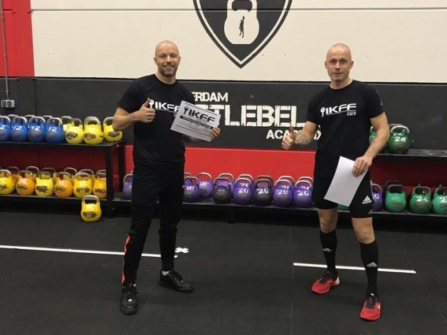 Ervaring Martijn IKFF Certified Kettlebell Trainer Level 1 Certification