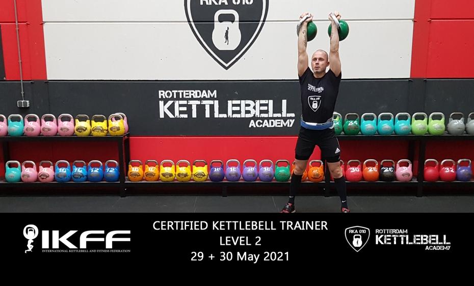 IKFF Certified Kettlebell Trainer Level 2 Certification