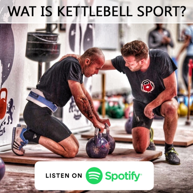 Kettlebell Sport Podcast - Wat is Kettlebell Sport